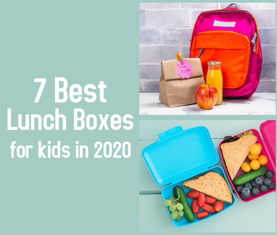 7 Best Lunch Boxes for Kids in 2020