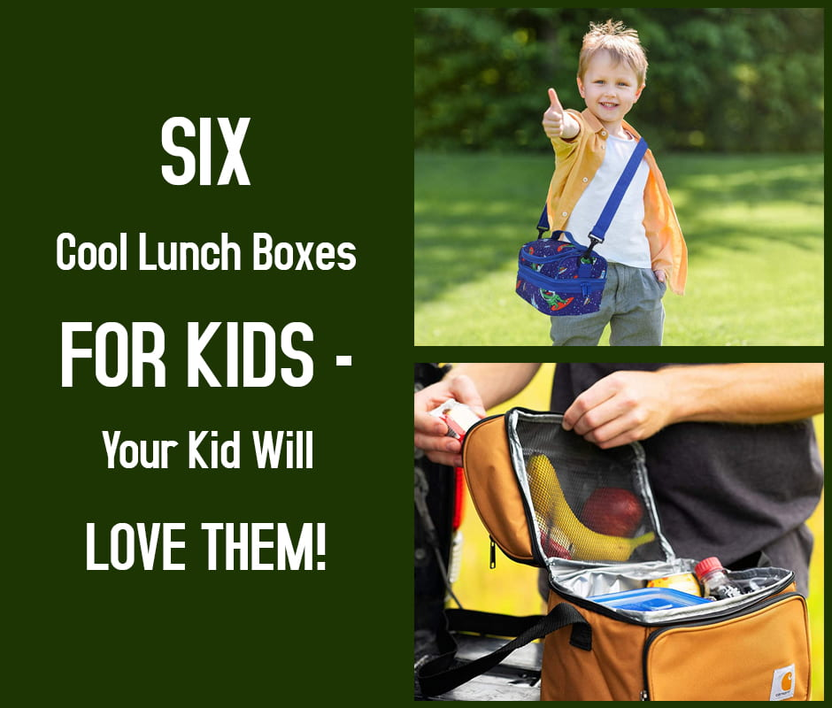 Six Cool Lunch Boxes for Kids – Your Kid Will Love Them!